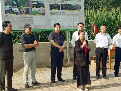 """故城县:""""四个农业""""全面推进 绿色防控降本增效"""